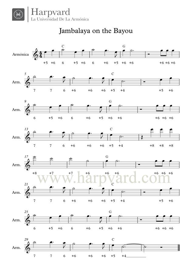 jambalaya-partitura-melodia